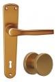 Monet F4 - bronz štítek klika / koule
