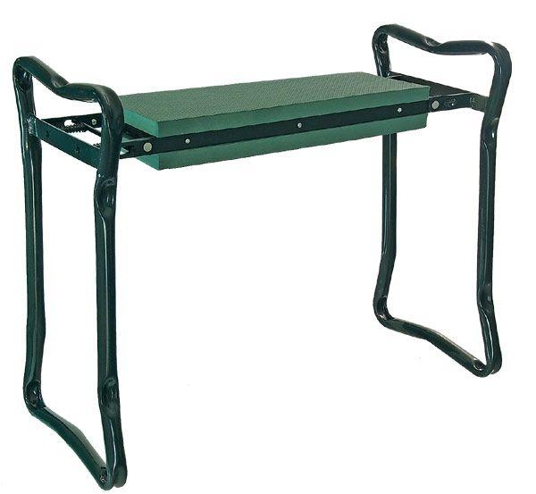 Zahradní stolička + klekátko 2v1 kov