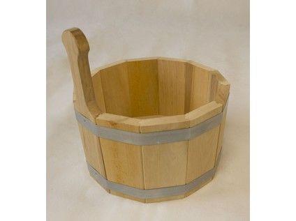 vědro 5l, 1 držák, dřev.olše