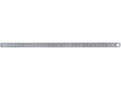 měřítko ocel. 300mm INOX KMITEX slabší