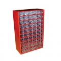 skříňka 1 velikost 50m 6732  30,5x46cm kov.
