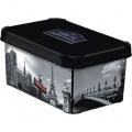 box úložný PARIS 29,5x19,5x13,5cm (S) s víkem, PH
