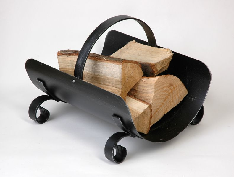 Koš na dřevo - kovaný ENZIAN