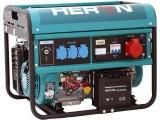 elektrocentrála benzínová 13HP/6,0kW (400V) 2,2kW (230V), elektrický start