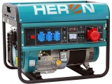 ZRUŠENO! Nahrazeno výrobkem 8896418, elektrocentrála benzínová 15HP/6,8kW (400V) 5,5kW (230V)