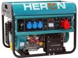 elektrocentrála benzínová 15HP/6,8kW (400V) 5,5kW (230V), elektrický start