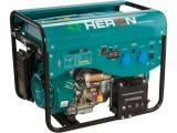 elektrocentrála benzínová a plynová (LGP/NG) 13HP/5,5kW, elektrický start