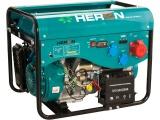 elektrocentrála benzínová a plynová (LGP/NG) 13HP/5,5kW (400V) 2x2kW (230V), elektrický start