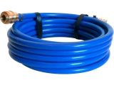 """hadice vzduchová PVC s rychlospojkami, 1/4"""", vnitřní ∅9mm, vnější ∅15mm, L 10m"""