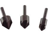 záhlubníky do vrtačky 90°, sada 3ks, ∅12-16-19mm