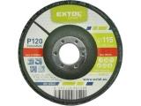 kotouč lamelový šikmý korundový, P120, O 115mm