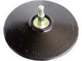 nosič brusných výseků, do vrtačky - šroub. uchycení, ∅125mm, stopka 8mm