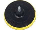 nosič brusných výseků, do vrtačky - suchý zip, ∅125mm, stopka 8mm