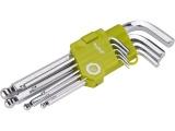 L-klíče IMBUS, sada 9ks, 1,5-10mm
