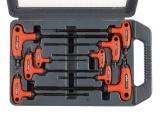T-klíče TORX, sada 9ks, T10-50mm