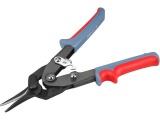 nůžky na plech převodové, 255mm, rovné
