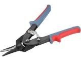 nůžky na plech převodové, 255mm, rovně a doleva