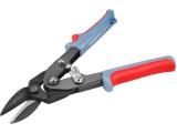 nůžky na plech převodové, 255mm, rovně a doprava
