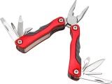 nůž-kleště kapesní multifunkční s nářadím, 100/67mm, 9 dílů, nerez