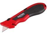 nůž kovový s výměnným břitem, 19mm, 4ks náhradních břitů