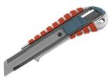nůž ulamovací kovový s kovovou výztuhou, 18mm, Auto-lock