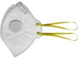 respirátory s výdechovým ventilem FFP1, sada 5ks, skládací, FFP1