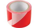 páska výstražná červeno-bílá, 75mm x 100m, PE
