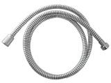 hadice sprchová, černo/stříbrná, 150cm, PVC