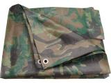 plachta maskovací PE nepromokavá 100g/m2, 10x15m, PE