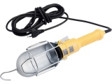 světlo závěsné se svorkou, 230V, 5m kabel, E27