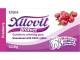 žvýkačky Xilovit protect BRUSINKA 10,8g, 1blistr=10 žvýkaček