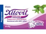 žvýkačky Xilovit protect PEPPERMINT 10,8g, 1blistr=10 žvýkaček