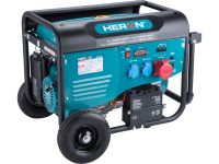 elektrocentrála benzínová 13HP/5,5kW/6,8kVA (400V), 2x2,2kW (230V), elektrický start, podvozek