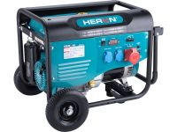 elektrocentrála benzínová 13HP/5,5kW/6,8kVA (400V), 2x2,2kW (230V), podvozek