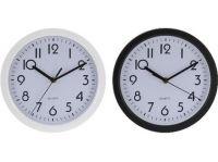 hodiny nástěnné pr.22,6cm PH BÍ,ČER mix