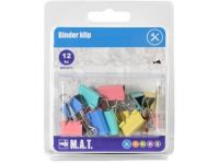 klip BINDER mix barev (12ks)