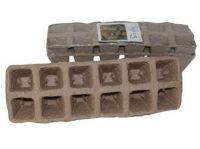 deska sadbová 12 polí, 3,5x3,5cm, rašelinová (2ks)