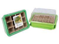 minipařeniště + deska sadbová rašelin.12 polí (3sady)