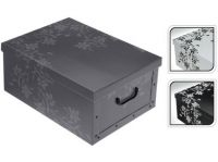 box úložný 51x37x24cm s víkem, dětský, karton mix dekorů