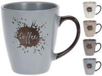 hrnek 200ml COFFEE keramický mix barev
