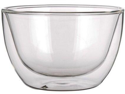 miska 250ml dvoustěnné sklo