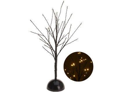 osvětlení vánoční STROM 40cm 32LED ČER