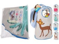 taška dětská na hračky 39x25x69cm mix dekorů