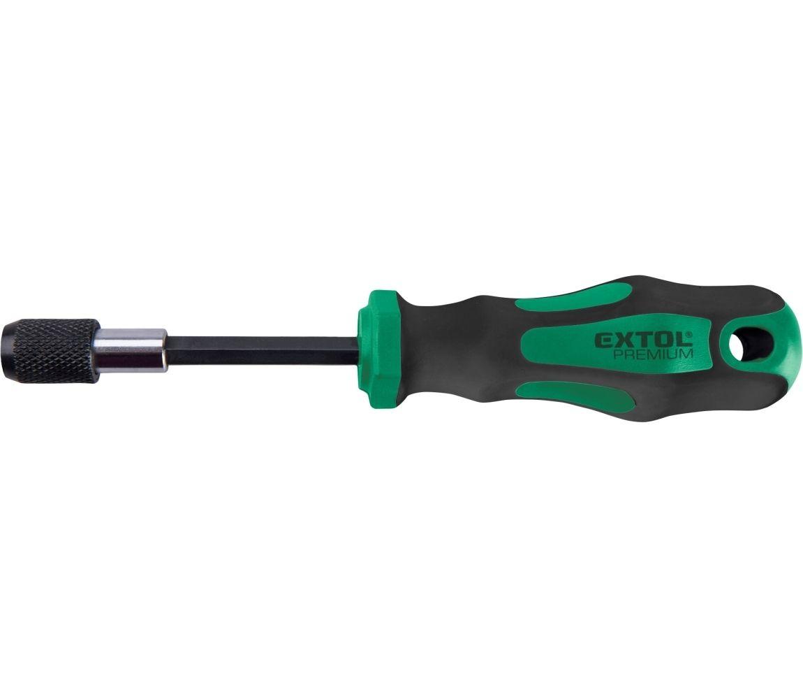"""šroubovák na hroty, 1/4""""x100mm Fix-Clip, CrV"""